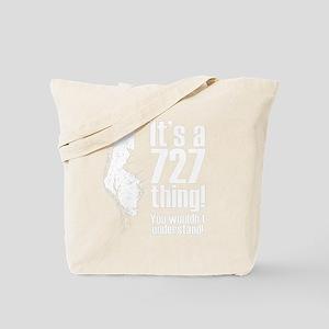 727 (black) Tote Bag