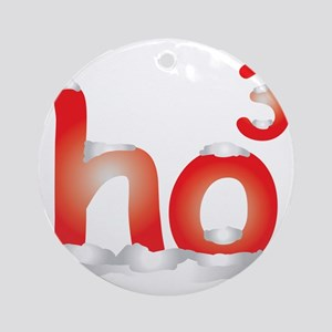 HO3 Round Ornament