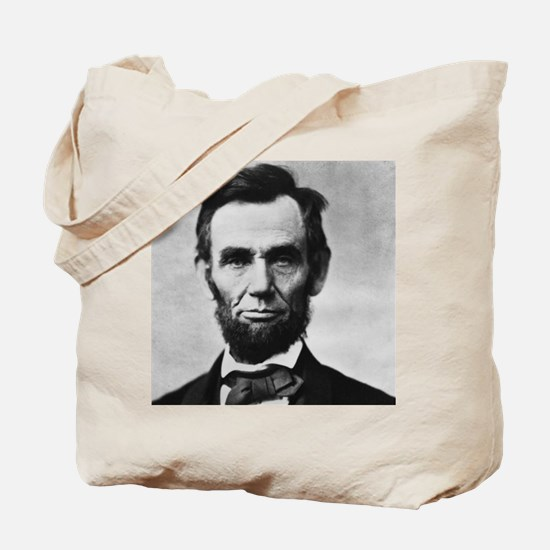 abe lincoln puzzle Tote Bag