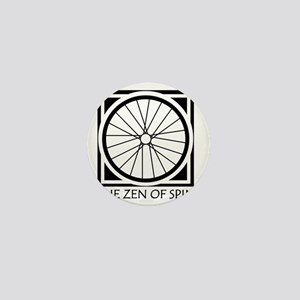 zenSpinBlack4Whitet Mini Button