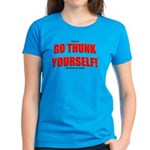 Go Thunk Yourself! Women's Dark T-Shirt