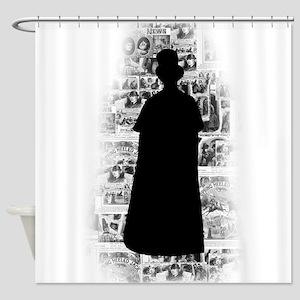Ripper Silhouette Shower Curtain