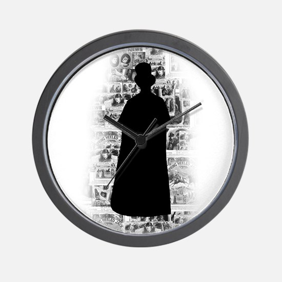 Ripper Silhouette Wall Clock