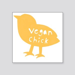 "vchick2 Square Sticker 3"" x 3"""
