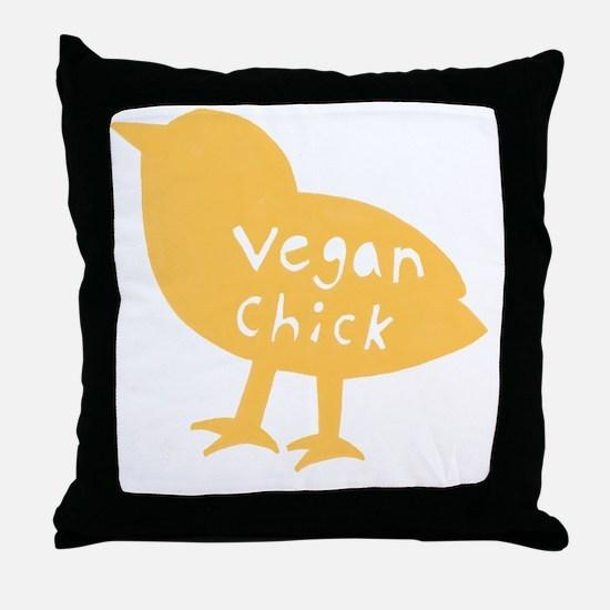 vchick2 Throw Pillow