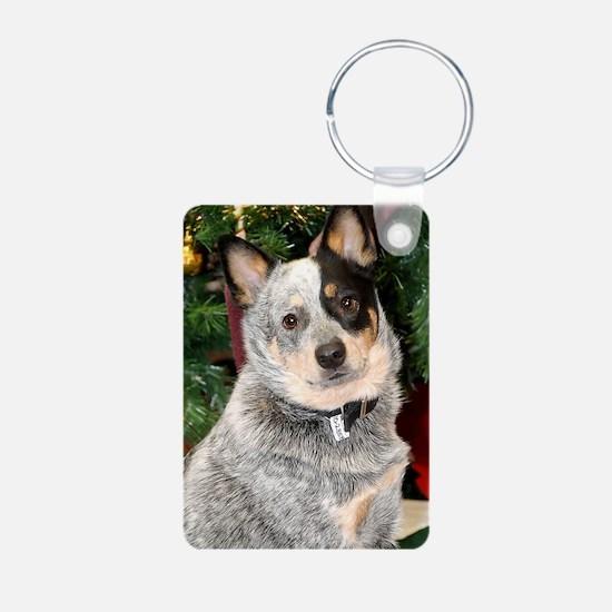 AustralianCattleDog-BlueHe Keychains