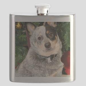 AustralianCattleDog-BlueHeeler Flask