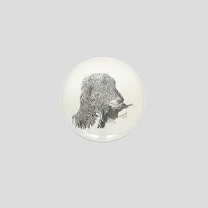 Silken Windhound Mini Button
