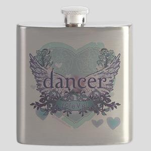 Dancer Forever by DanceShirts.com Flask