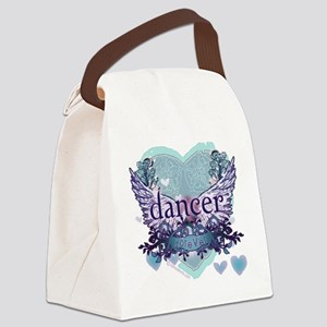 Dancer Forever by DanceShirts.com Canvas Lunch Bag