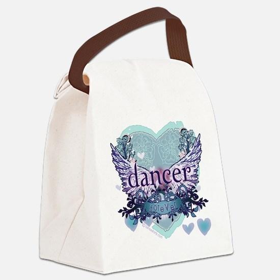 Dancer Forever by DanceShirts.com Canvas Lunch Bag