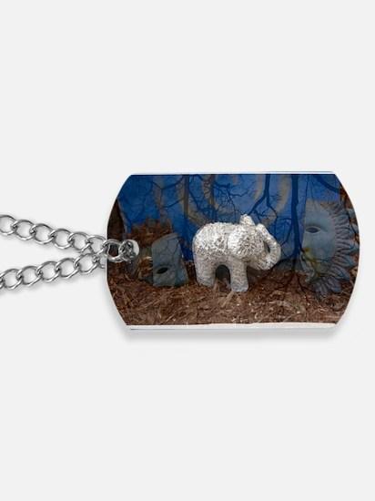ElephantImage Dog Tags