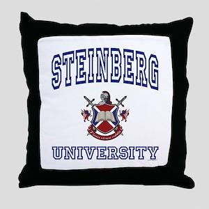 STEINBERG University Throw Pillow