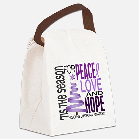D Lymphoma Hod Canvas Lunch Bag