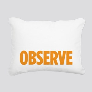observedrk copy Rectangular Canvas Pillow