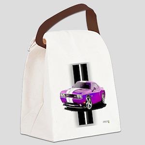 challengerpurple Canvas Lunch Bag