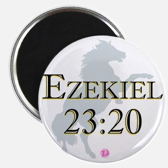 Ezekiel-horse-design-1 Magnet