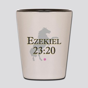 Ezekiel-horse-design-1 Shot Glass