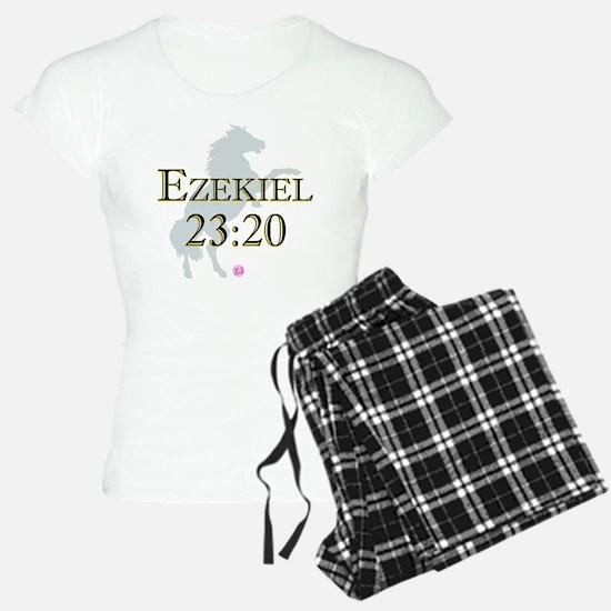 Ezekiel-horse-design-1 Pajamas