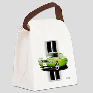 challengergreen Canvas Lunch Bag