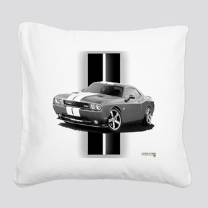 challengergrey Square Canvas Pillow