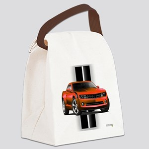 camarored Canvas Lunch Bag