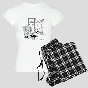 1827_physics_cartoon Women's Light Pajamas