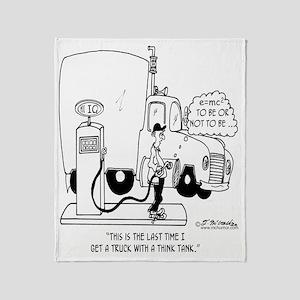 5148_science_cartoon Throw Blanket