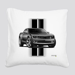camarogray Square Canvas Pillow