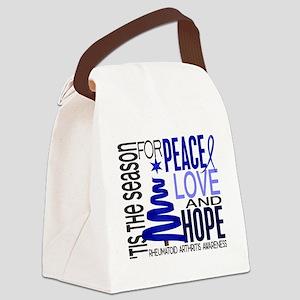 D Christmas 1 Rheumatoid Arthriti Canvas Lunch Bag