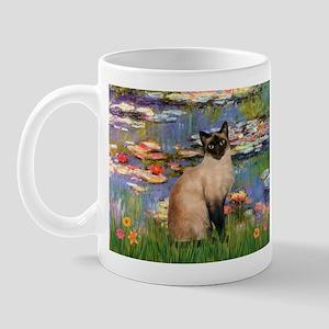Lilies (2) & Siamese Mug