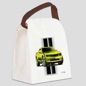 camaroyellow Canvas Lunch Bag