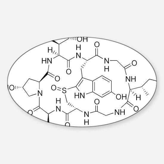 Chemisty Sticker (Oval)