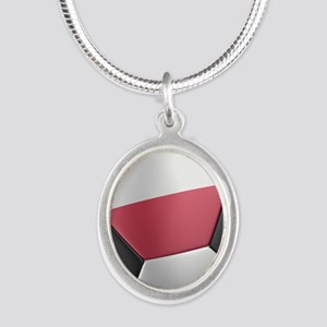 poland_1_iphone_slider_ Silver Oval Necklace