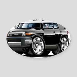 Fj Cruiser Black Car Oval Car Magnet