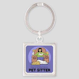 PETsitter Square Keychain