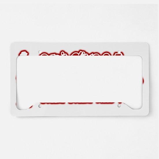 original-bankster License Plate Holder