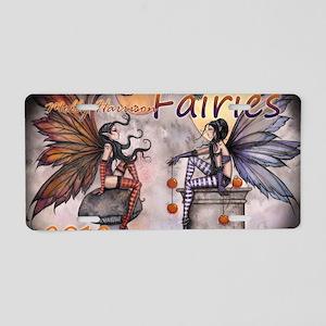 2012 fairy calendar cover c Aluminum License Plate