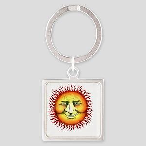sunfaceTUtrans copy Square Keychain