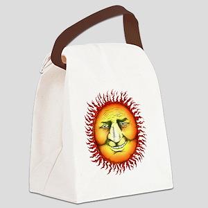 sunfaceTUtrans copy Canvas Lunch Bag