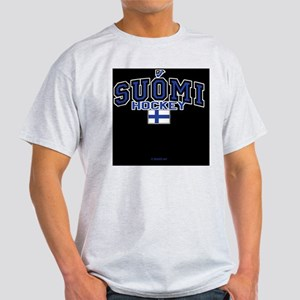 FI Hky IpadSlv554_H_F Light T-Shirt