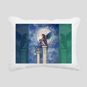 2012 indigo moon cafe pr Rectangular Canvas Pillow