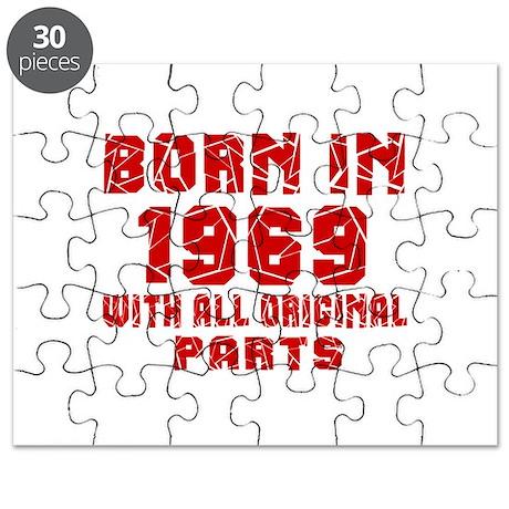 Born In 1969 With All Original Parts Puzzle
