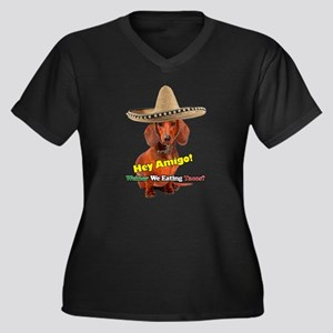 Weiner We Eating Tacos? Plus Size T-Shirt