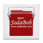 Soda Bob Tile Coaster