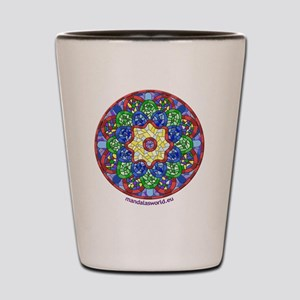 Modernism Gaudi Guell n1 Shot Glass