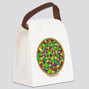 Modernism Gaudi Guell n3 Canvas Lunch Bag