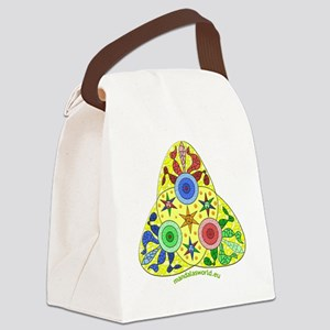 Modernism Gaudi Guell n2 Canvas Lunch Bag