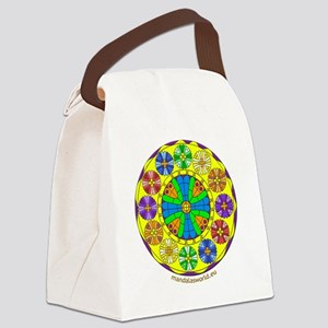 Modernism Gaudi Cripta Guell n1 Canvas Lunch Bag