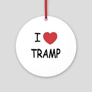 TRAMP Round Ornament